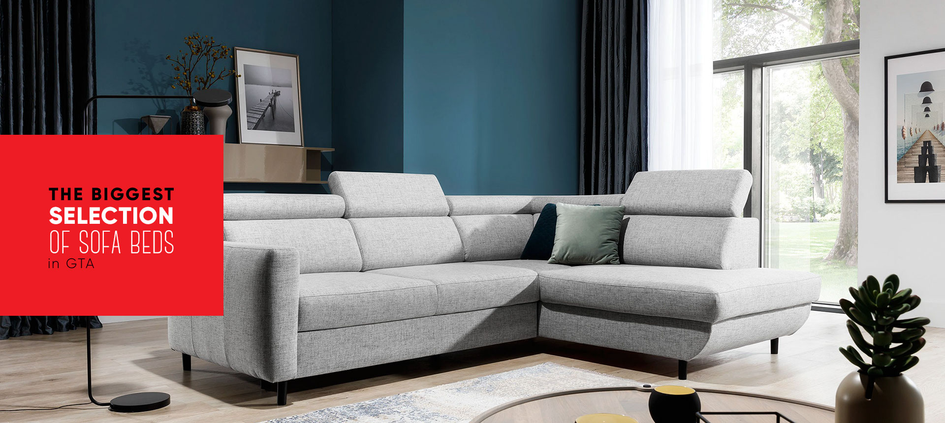 The biggest selection of sofa beds in GTA - Online store Smart Furniture Mississauga