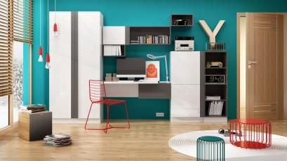 Lenart Bookcase Yeti Y-02P - Right sided bookcase
