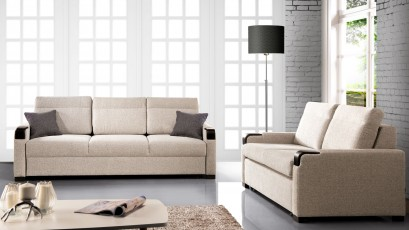 Libro Loveseat Kronos 2,5FBK - Sofa with bed and storage