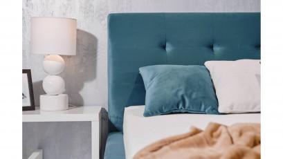 Hauss Storage Bed Luxor - Upholstered storage bed
