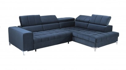 Libro Sectional Arte - Modern sectional with bed and storage