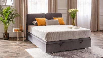 Hauss Storage Bed Sempre Slim - Modern upholstered bed