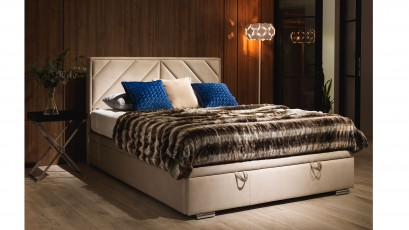 Hauss Storage Bed Pino Slim - Unique upholstered bed