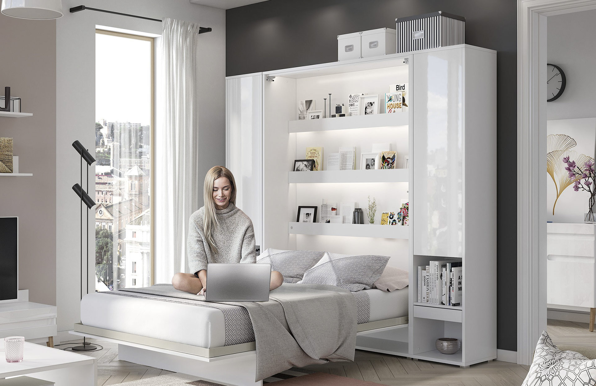 Murphy Bed – discovered of necessity. - get inspired by Smart Furniture online store