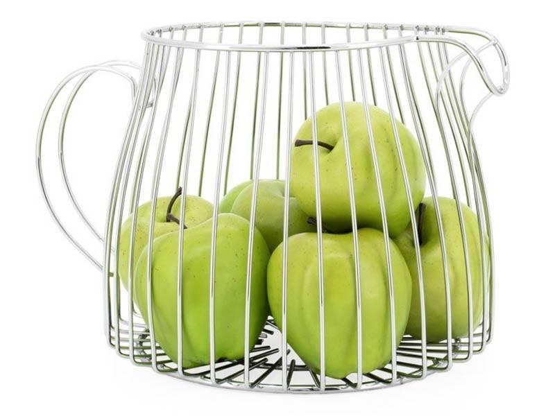 Torre & Tagus Pitcher Fruit Basket - Modern decor