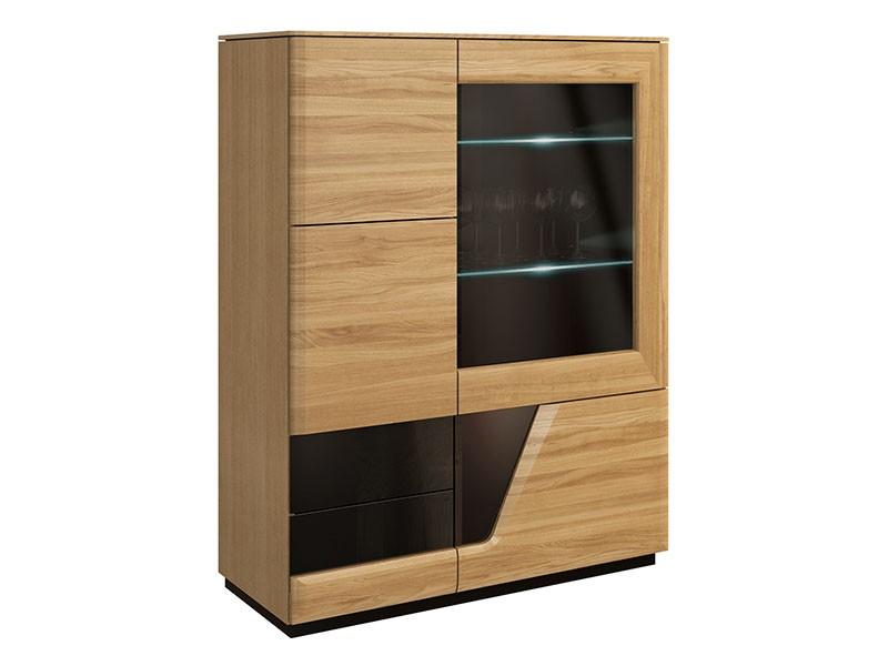 Mebin Smart Bar Cabinet Right Natural Oak - Furniture of the highest quality