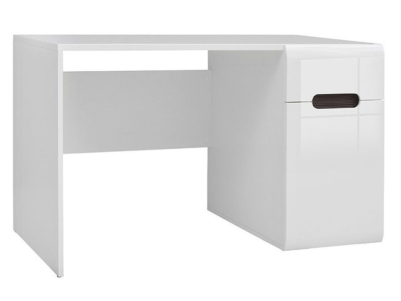 Azteca Trio Desk - High gloss white desk