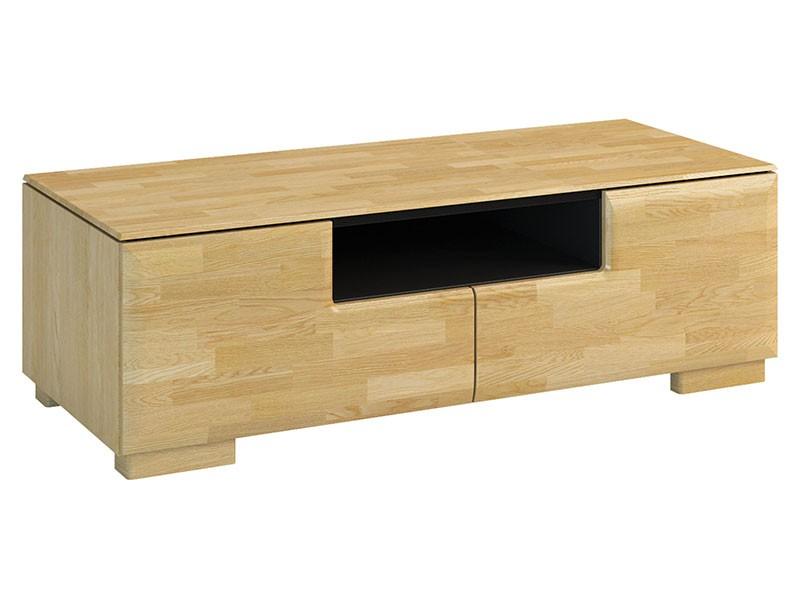 Mebin Rossano Tv Stand Mini Oak Bianco - High-quality European furniture