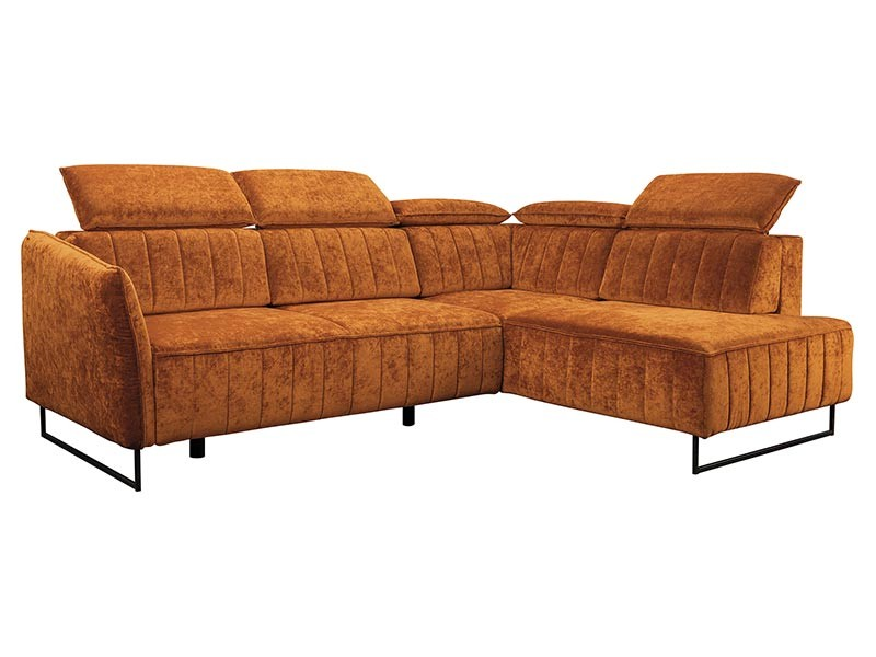 Libro Sectional Sorento - Comfortable sectional with adjustable headrests
