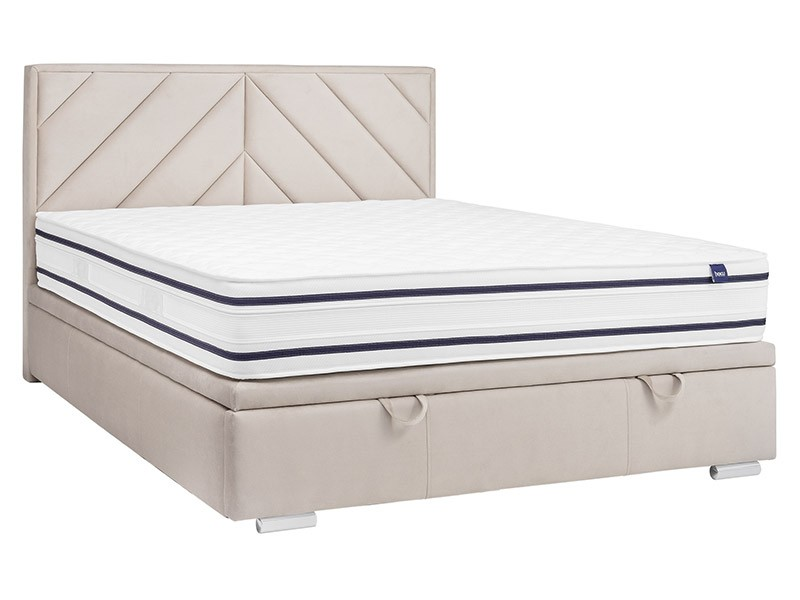Masket Storage Bed Pino Slim - Unique upholstered bed