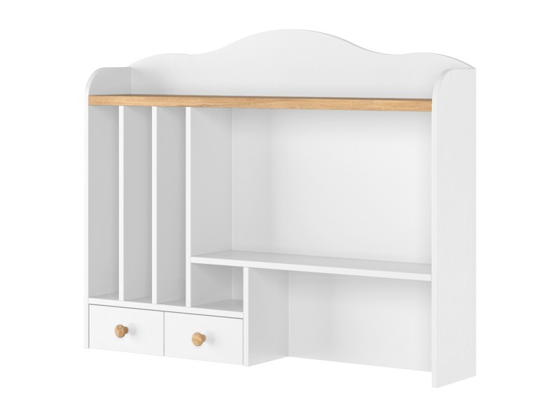 Lenart Hutch Story SO-04 - Desk top unit with organizers and shelves