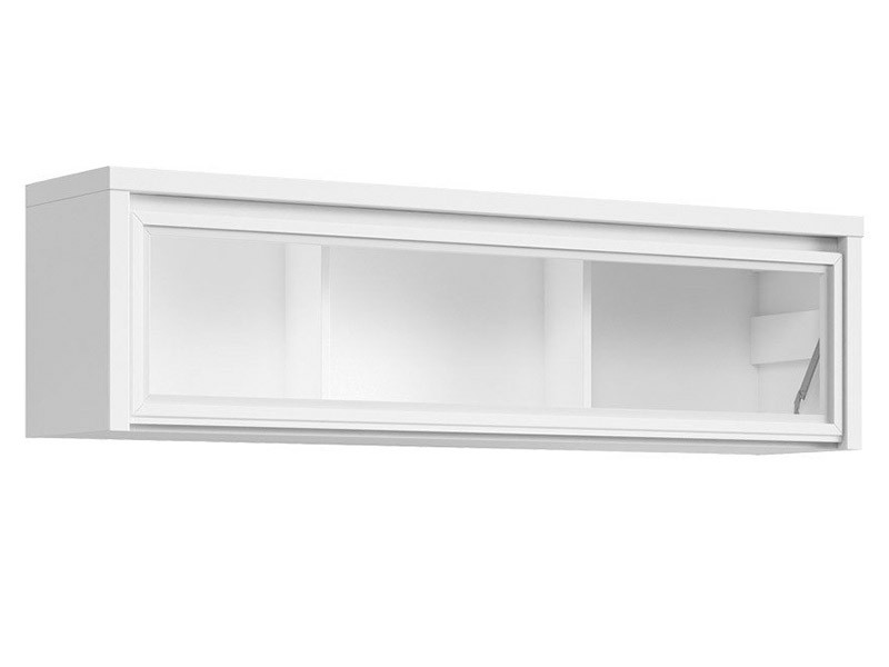 Kaspian White Floating Cabinet - Contemporary furniture collection