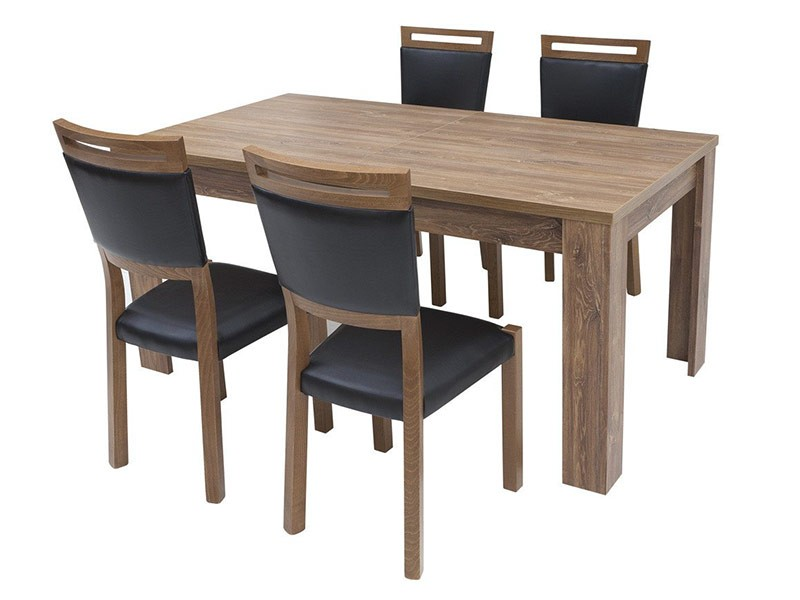 Gent Dining Set - Set with extendable table