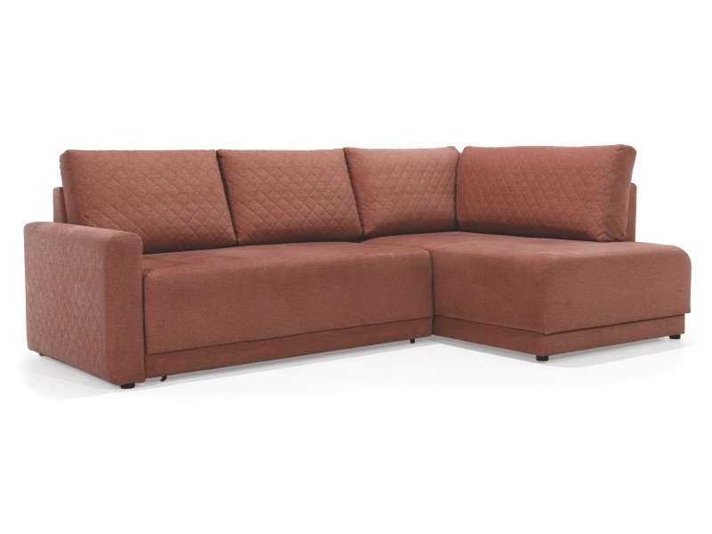 Wajnert Sectional Andre With Tufting - Condo size sectional with bed and storage