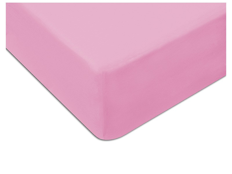 Darymex Jersey Fitted Bed Sheet - Pink - Europen made