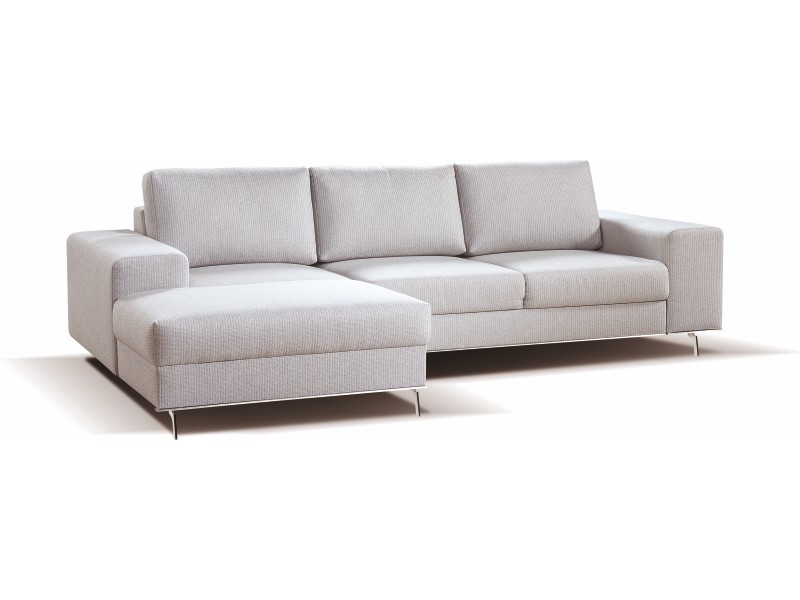 Libro Sectional Chrome OBKL-2F-PK - Sectional sofa with bed and storage