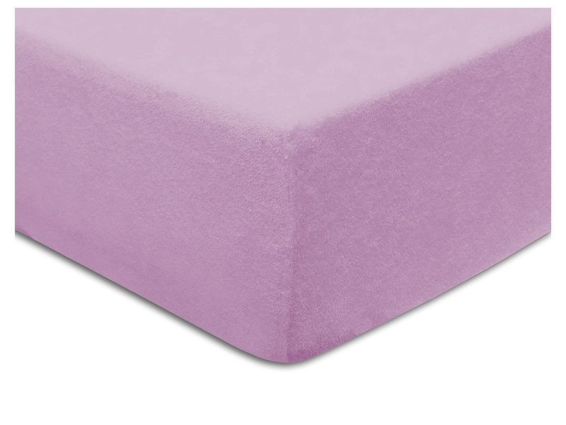 Darymex Terry Fitted Bed Sheet - Heather - Europen made