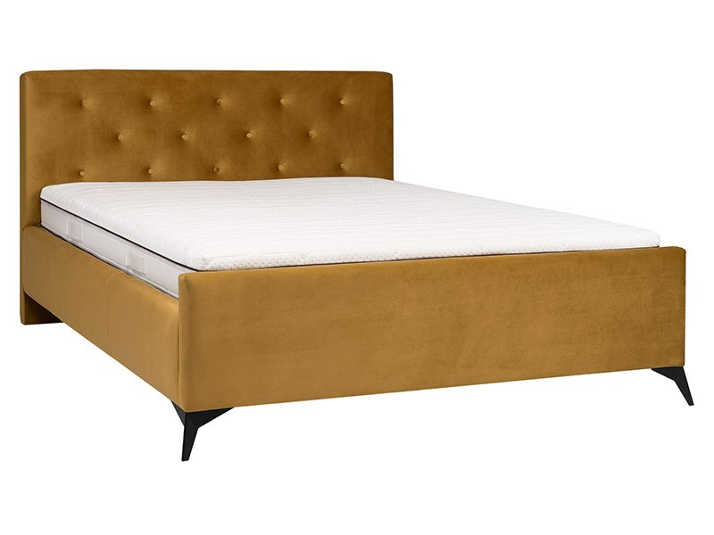 Hauss Bed Milos - Canadian Queen - Piano 23 - Upholstered bed