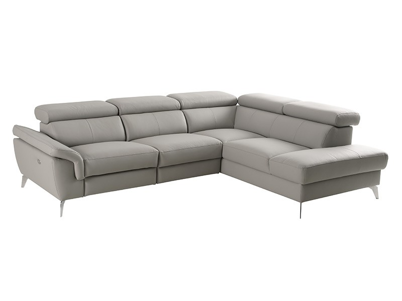 Des Sectional Sono With Power Recliner - Madras 518 - Corner sofa with power recliner and storage