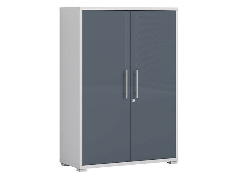 Office Lux 2 Door Short Storage Cabinet - Modern office collection