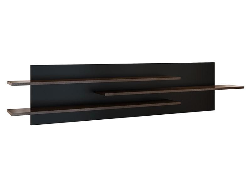 Mebin Rossano Large Hanging Shelf Oak Notte - High-quality European furniture