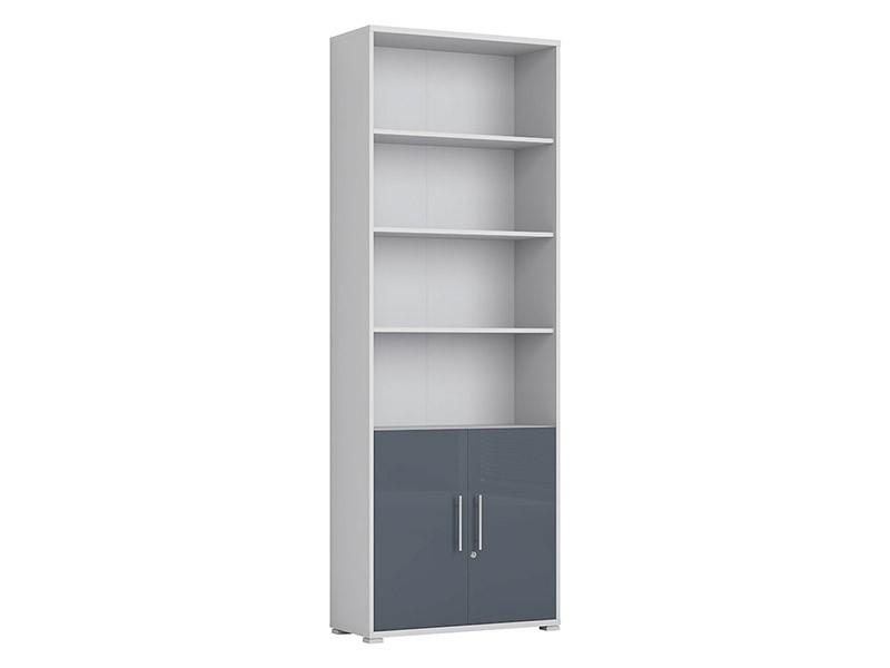 Office Lux 2 Door Storage Cabinet - Modern office collection