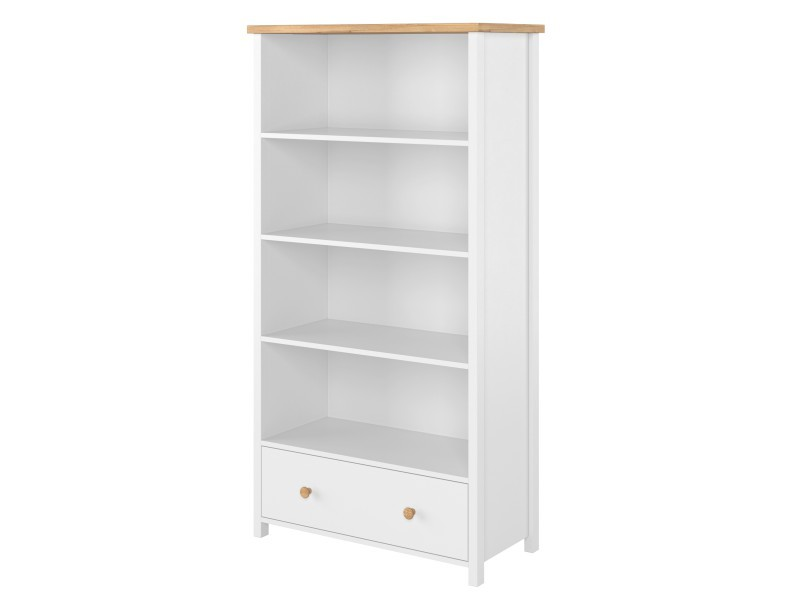Lenart Bookcase Story SO-02 - Bookcase with bottom drawer