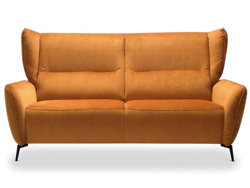 Gala Collezione Sofa Lorien - Fabric Mustang 960 - Stunning wingback sofa