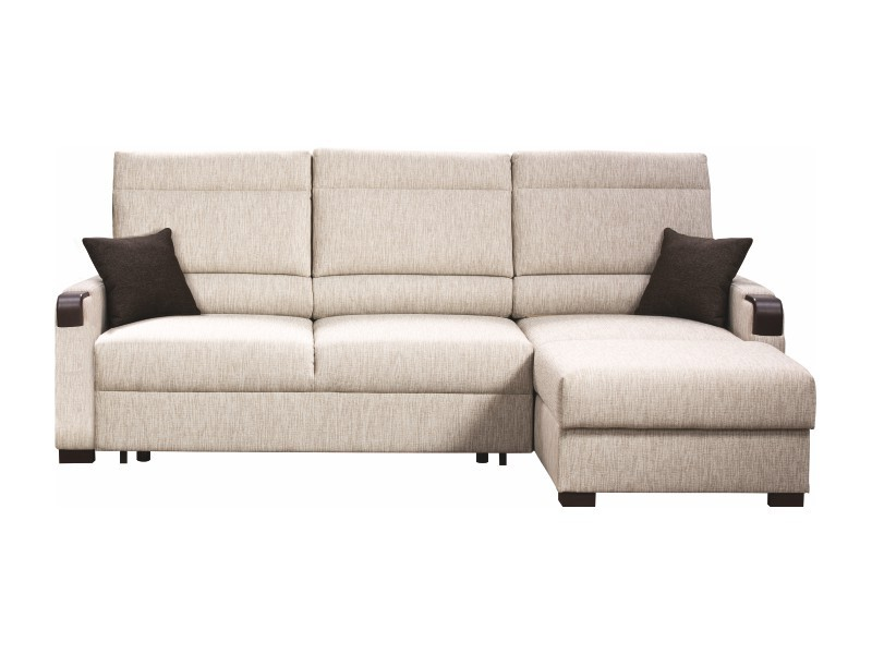 Libro Sectional Kronos 2FL-OBKR - Sectional sofa with bed and storage