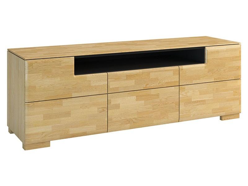 Mebin Rossano Storage Cabinet 3D Oak Bianco - High-quality European furniture
