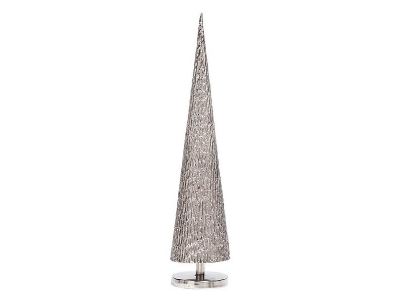 Torre & Tagus Mirage Metal Decor Tree Sculpture - Silver  - Modern decor