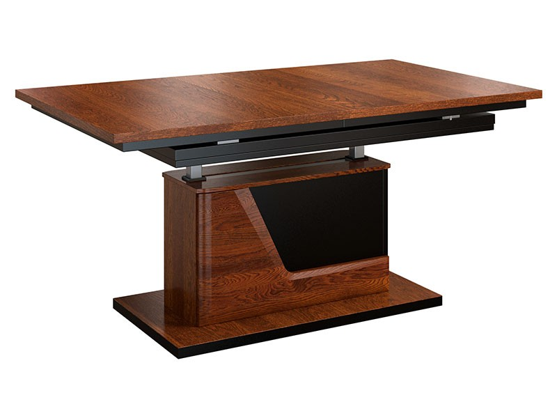 Mebin Smart Extendable Coffee Table Antique Walnut - Furniture of the highest quality