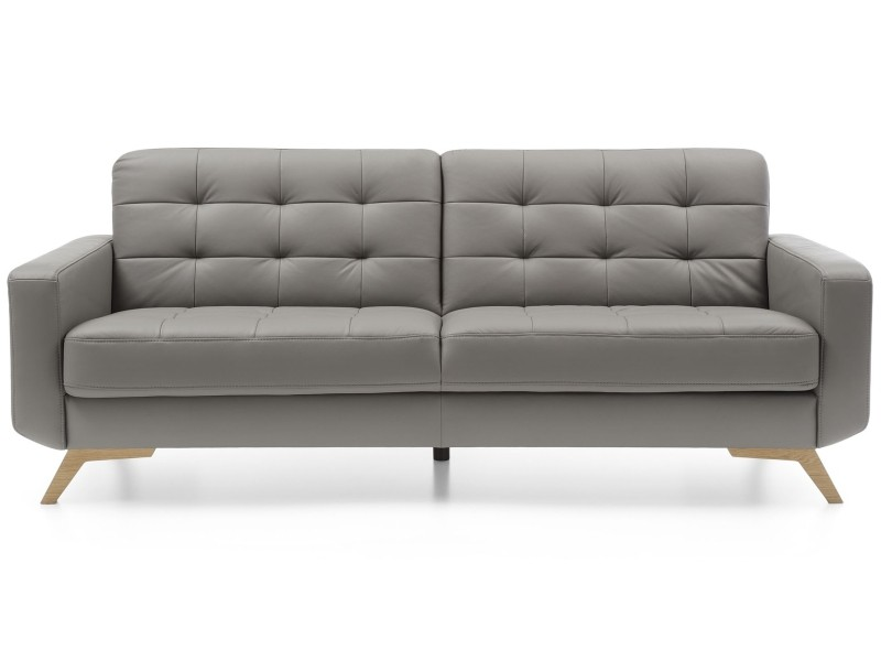 Sweet Sit Sofa Fiord - Leather + PVC G-190 - Trendy scandi sofa