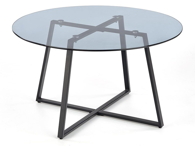 Halmar Zelda Coffee Table - Modern rounded center table