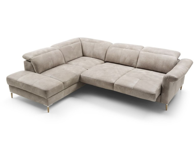 Gala Collezione Sectional Fava OTM11SL-2,5VPe - Sectional with electric sliding seats