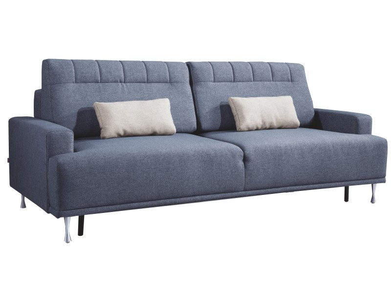 Libro Sofa Bed Uzo 3FBA - Modern sofa with bed and storage