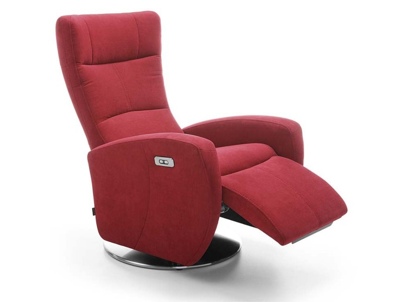 Gala Collezione Power Recliner Inari Wth Battery - Swivel recliner with battery