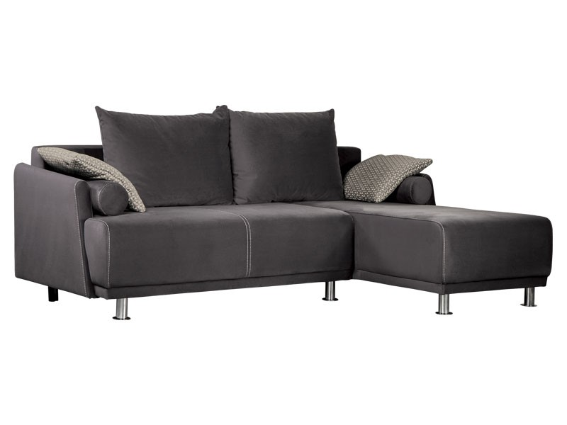 Libro Sectional Zafira 2FBAL-OTR - Trendy sectional with bed and storage