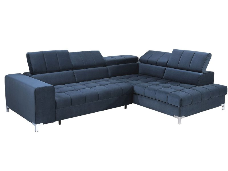 Libro Sectional Arte - Modern sectional with bed and storage - Online store Smart Furniture Mississauga