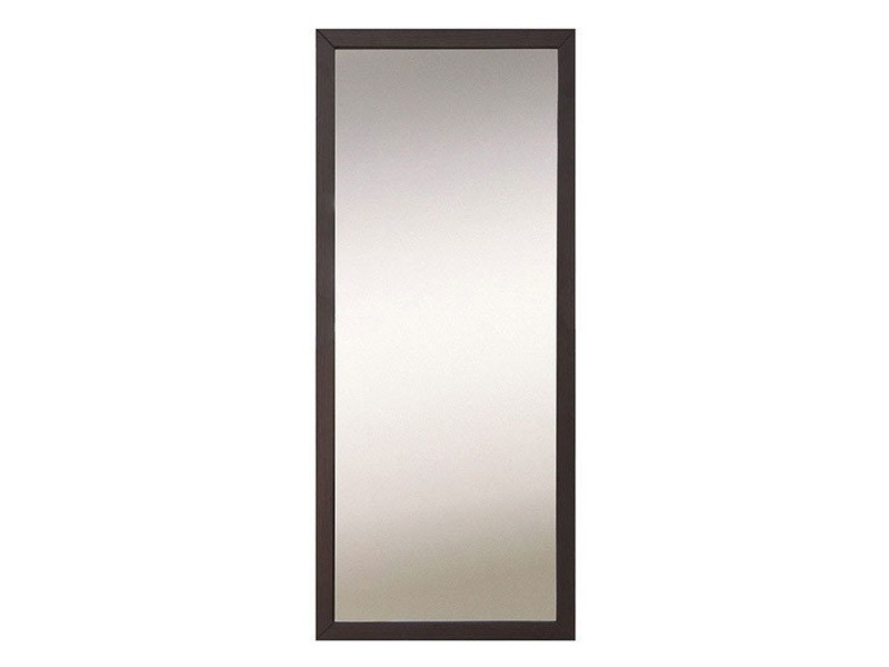 Kaspian Wenge Mirror - Contemporary accent