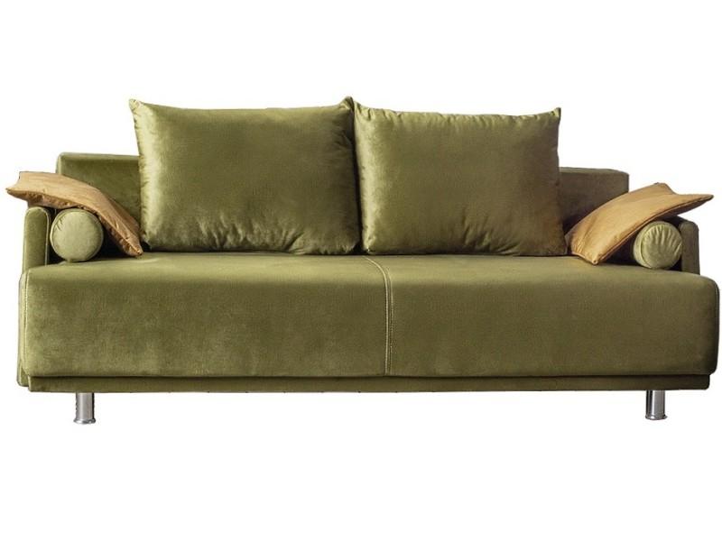 Libro Sofa Zafira - Trendy sofa with bed and storage