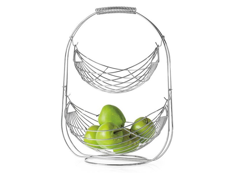 Torre & Tagus Swing 2 Tier Fruit Basket - Countertop essential