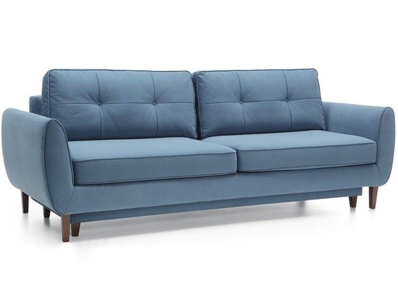 Wajnert Sofa Oland 3R - Scandinavian style 3-seater sofa bed