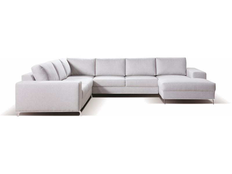 Libro Sectional Chrome PK-2F-E-2BK-OBKR - Sectional sofa with bed and storage.