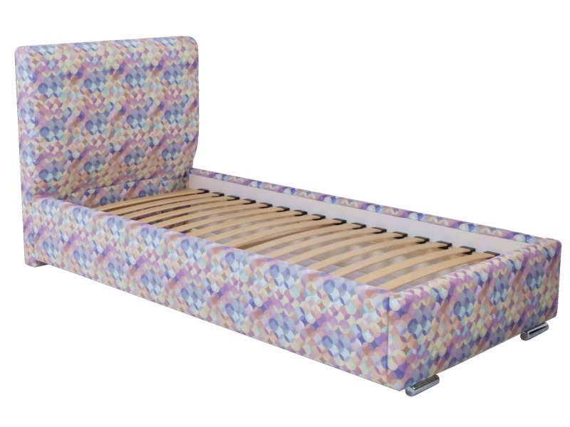 Hauss Single Storage Bed Como - Upholstered storage single bed