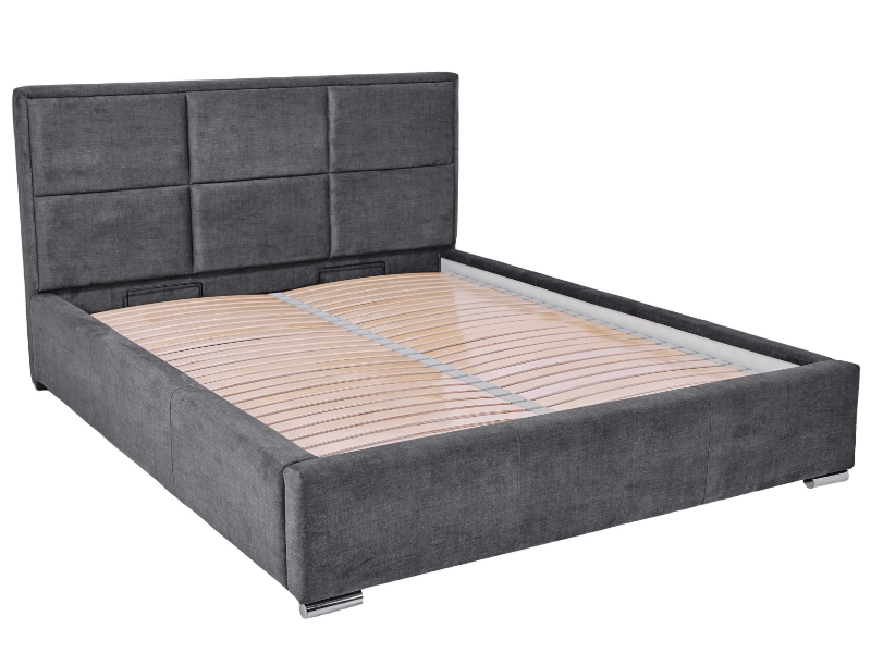 Hauss Storage Bed Costa - Upholstered storage bed - Online store Smart Furniture Mississauga