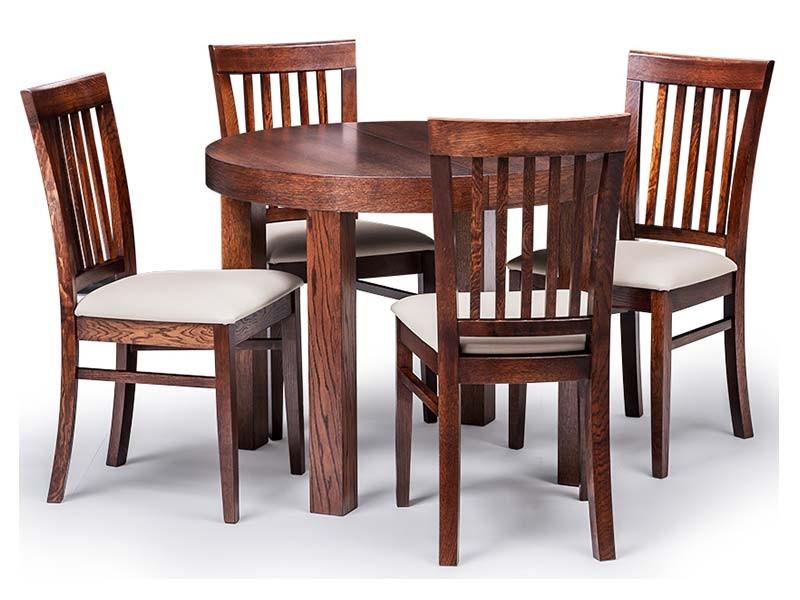 Bukowski Dining Set Karo and Ewita - European extendable table