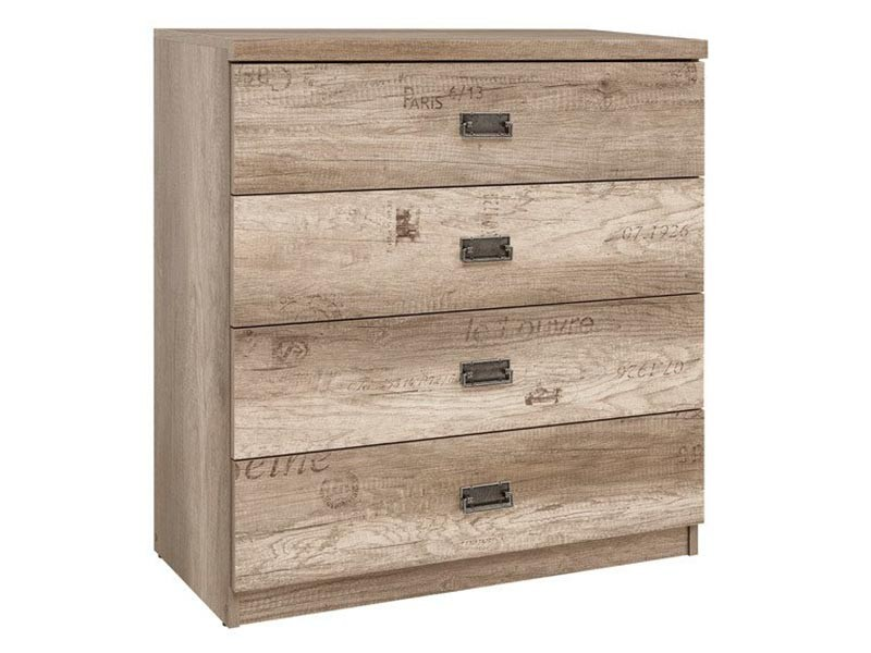 Malcom 4 Drawer Chest - Youth furniture collection