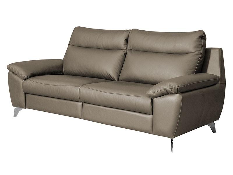 Des Sofa Perle 2,5TVE - Dollaro Smog - Double power recliner