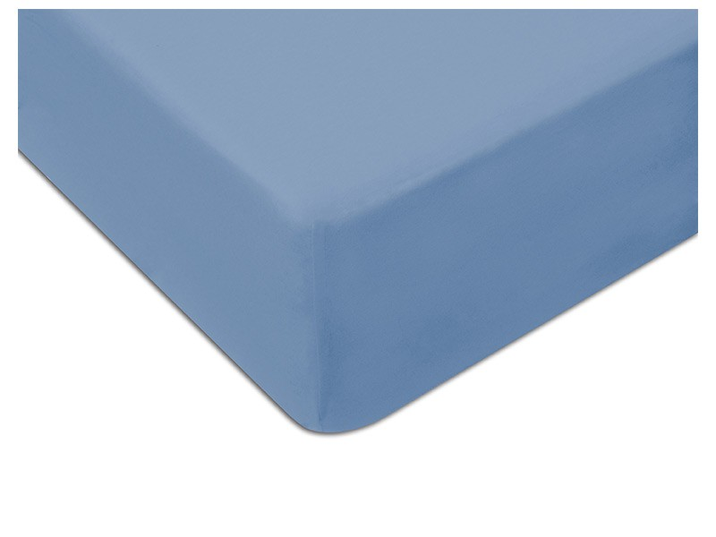 Darymex Jersey Fitted Bed Sheet - Blue - Europen made